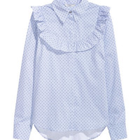 H&M Blouse with Ruffle $29.99