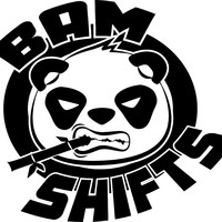 BAM SHIFTS Round Vinyl Transfer Stickers