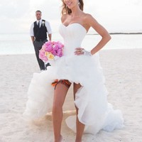 Beach Theme Wedding Dress