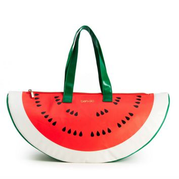 ban.do - super chill cooler bag - watermelon