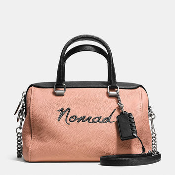 Nomad Surrey Satchel in Pebble Leather