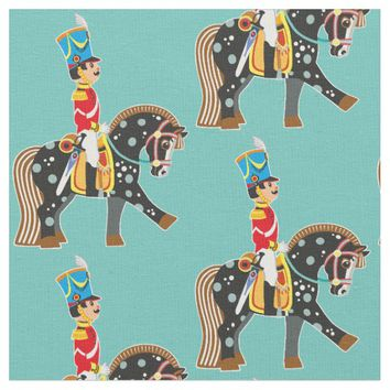 cartoon soldier fabric