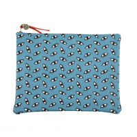 I liked this design on #Fab. Eye Clutch Blue