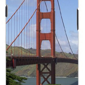 San Francisco California Amazing Golden Gate Bridge Unique Quality Hard Snap On Case for Samsung Galaxy S4 I9500 - White Case