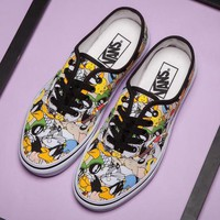 Fashion Online Trendsetter Vans X Peanuts Bugs Bunny Canvas Old Skool Flats Shoes Sneakers Sport Shoes