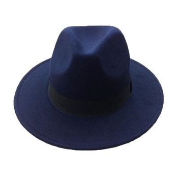 Retro Fedora Hats in Colors Women & Men