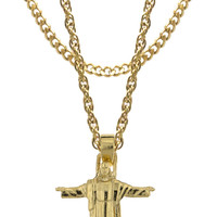 Mister *Redeemer Necklace - Gold