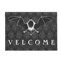 Vampire  Velcome door mat