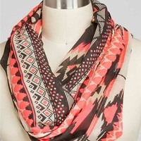 Tribal Aztec Eternity Scarf