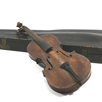 Vintage Stradivarius Violin And Case