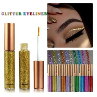 10 Color Metallic Liquid Glitter Eyeliner