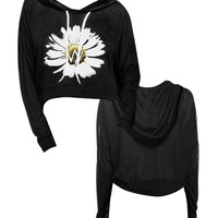 Daisy Cropped Hoodie