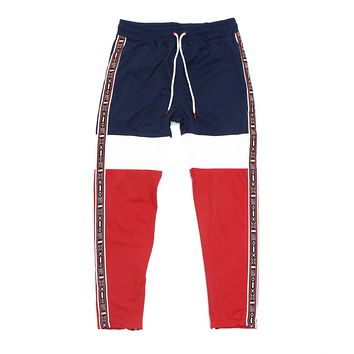 Bradley Track Pants (Red,White,Blue)