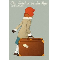 Poster The Catcher in the Rye 12x18 inches print by claudiavarosio
