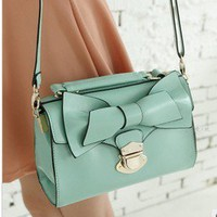 Retro buckle bow Mobile Messenger bag  from Fashion Accessories Store