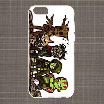 Guardian Of The Galaxy Cute iPhone 4/4S, 5/5S, 5C Series Hard Plastic Case