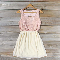 After the Rain Dress in Blush