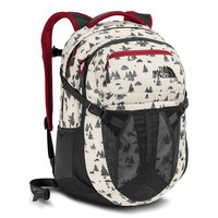 Recon Backpack in Vintage White Sasquatch Print by The North Face