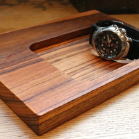 Tigerwood Key Tray Large by TheDesignPallet on Etsy