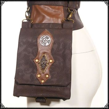 Steampunk Holster Hip Bag