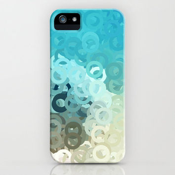 MINT CIRCLES iPhone Case by VIAINA DESIGN | Society6