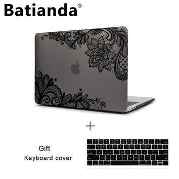 Batianda New Pro Retina 13 15 2016 2017 Case,Matte Frosted Hard Cover for Apple MacBook Pro 13.3 15 inch A1706 A1707 Touch Bar