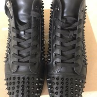 Christian Louboutin Louis Spikes black EUR: 45/US: 11