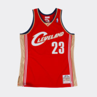 Mitchell & Ness LeBron James 2003-04 Authentic Jersey Cleveland Cavaliers Crimson