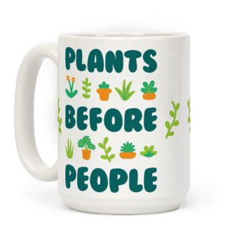 PLANTS BEFORE PEOPLE MUG