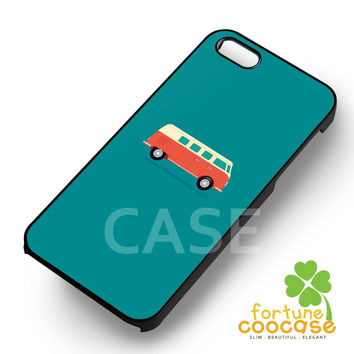 VW Camper Bus graphic case -stl for iPhone 6S case, iPhone 5s case, iPhone 6 case, iPhone 4S, Samsung S6 Edge