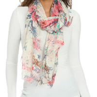 Gypsy Floral Scarf | Shop Just Arrived at Wet Seal