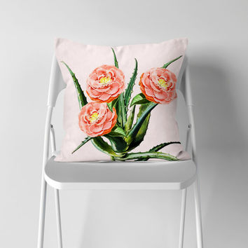 Blush Cactus || #society6 #decor #buyart by 83 Oranges®
