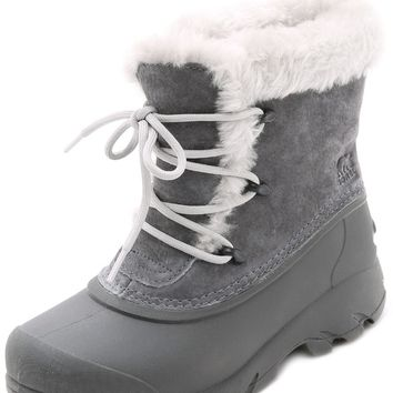 Snow Angel Lace Up Boots