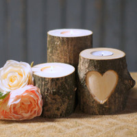 Personalized Candle Holder - Rustic Home Decor - Personalized Gift for her - Rustic Decor - Personalized Sister Gift - Personalized Gifts