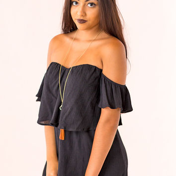 All Of My Love Dress in Black