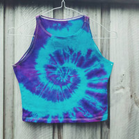 Tie Dye Crop Top - OUT OF STOCK - re-ordering next week