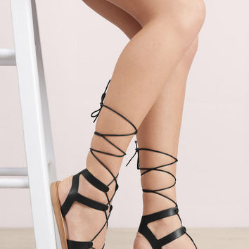 Steve Madden Rella Lace Up Sandals