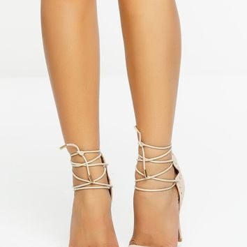 Chantilly Heels - Beige