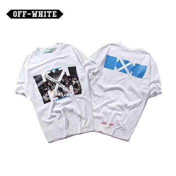 ABHCXX OFF-WHITE White Arrows T-shirt