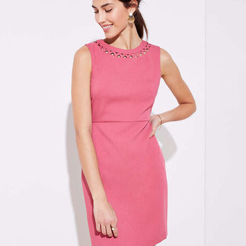 Cutout Sheath Dress | LOFT