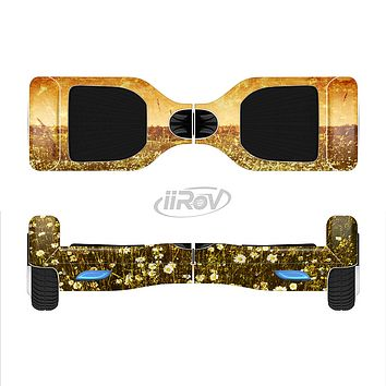 The Vintage Glowing Orange Field Full-Body Skin Set for the Smart Drifting SuperCharged iiRov HoverBoard