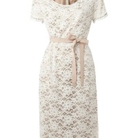 Linea Lace dress Off White - Dresses - House of Fraser