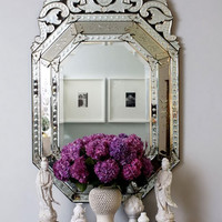 Everything Fabulous: J'adore Venetian Mirrors
