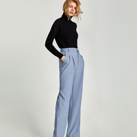 POLO NECK SWEATER - View all-KNITWEAR-WOMAN   ZARA United States