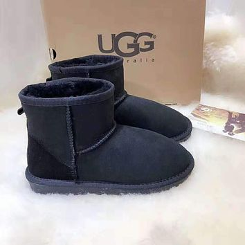"""UGG"" Fashionable Women Warm Wool Snow Boots"