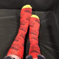 GUCCI Graffiti Lurex Socks