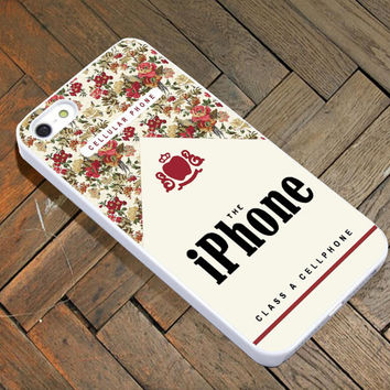 Flowers Indie Cases Class A Cellphone for iPhone 4/4S/5/5S/5C Case, Samsung Galaxy S3/S4 Case