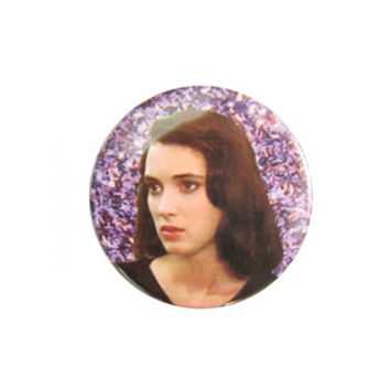 90's Winona Ryder Button