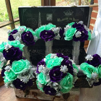Best Mint Wedding Bouquets Products on Wanelo
