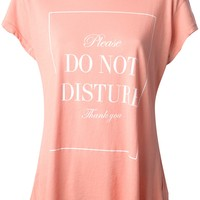 WILDFOX 'Do Not Disturb' t-shirt